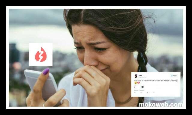 Tinder app crashing