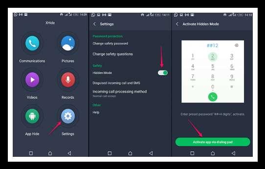 Retrieve apps on Infinix xhide