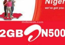 airtel 2gb for n500