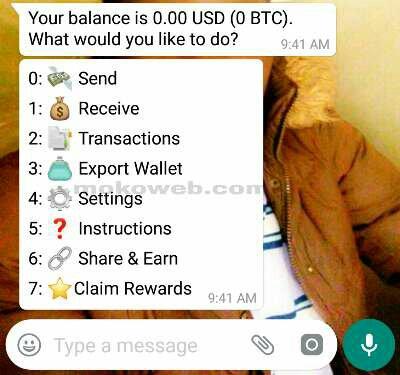 Claim btc rewards