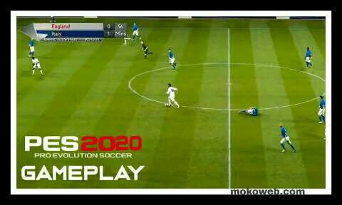 Gameplay pes 20 iso