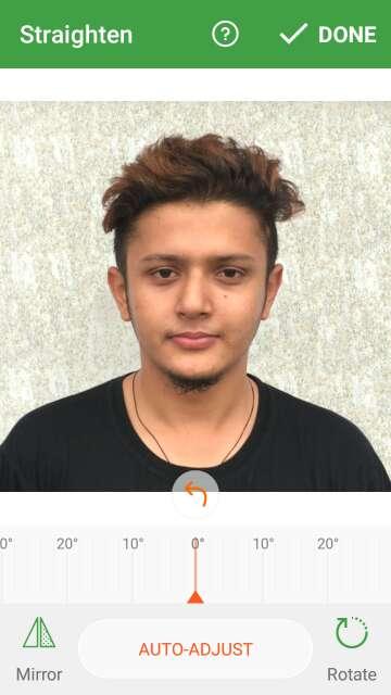 Passport photo maker Visa