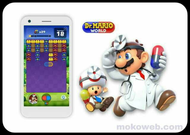 Dr Mario World game