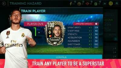 Eden Hazard fifa 20 mobile