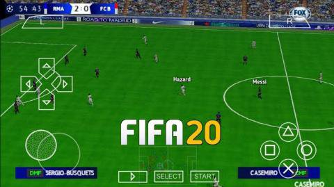 Fifa 20 PPSSPP psp