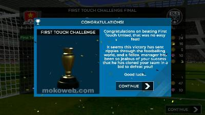 champions first touch challenge