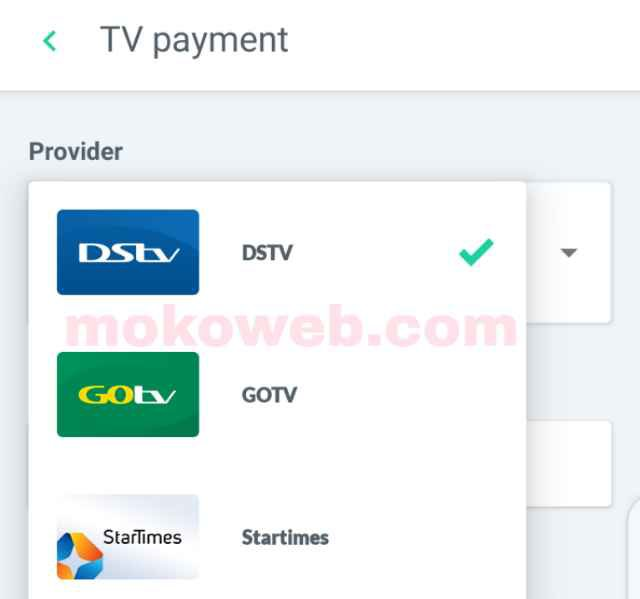 Cable TV subscription