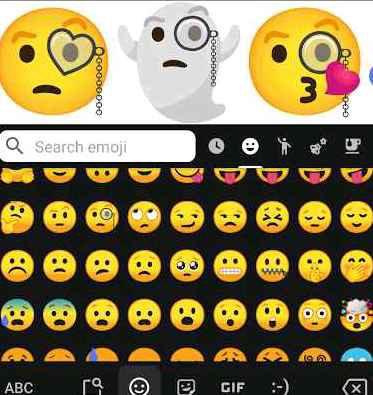 GBoard app emoji