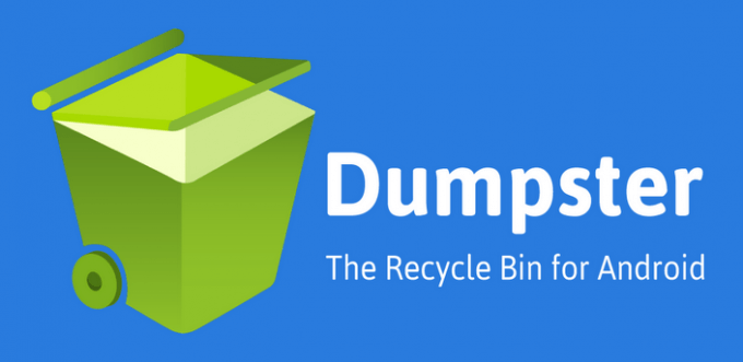 dumpster app to recover deleted photos
