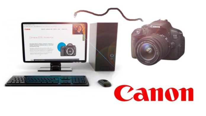 use canon camera as webcam