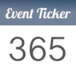 Event ticker app