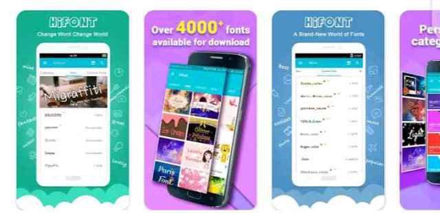 Hifont app
