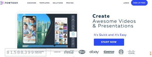 powtoon video marketing application