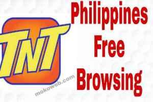 Philippines TNT Free Internet