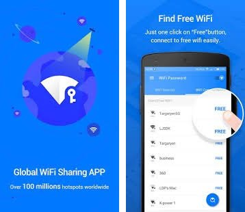 Wifi password app