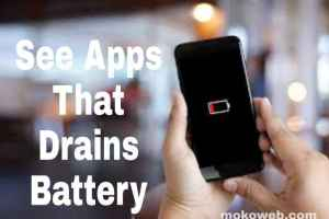 Discover apps that drains your battery