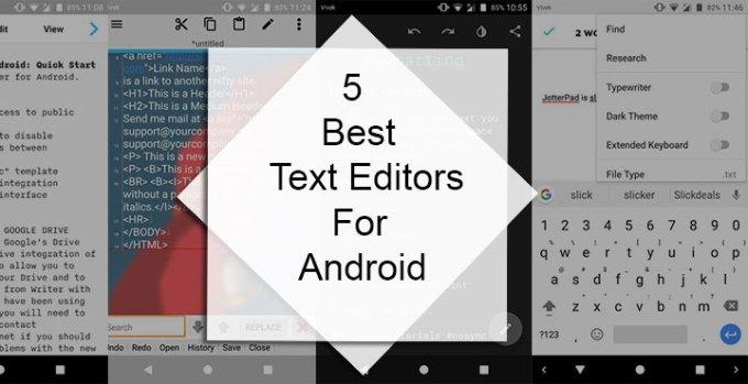 best online text editor
