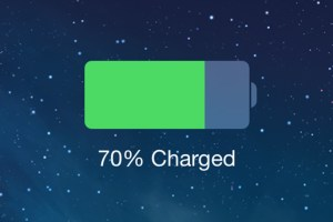 iphone battery charging