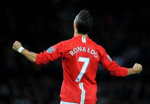 C Ronaldo in Man PES 22 PSP