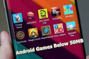 Android games below 50mb