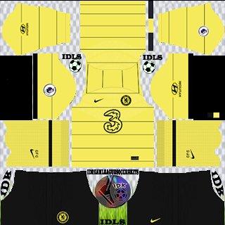 Chelsea Away kit dream league soccer 2022