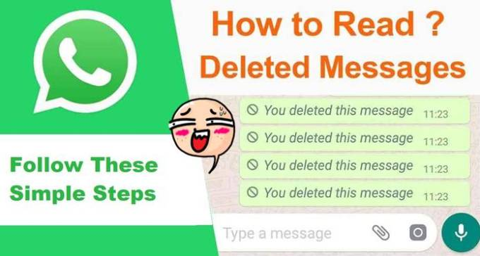 how to read deleted whatsapp messages