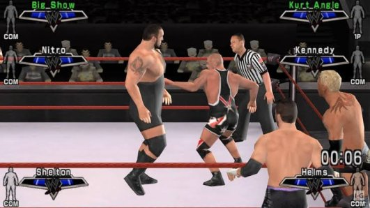 WWE SmackDown! vs. RAW 2007 ppsspp