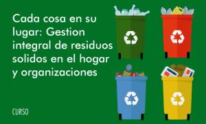 curso gestión de residuos sólidos
