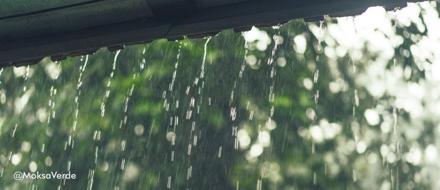 El potencial del agua lluvia