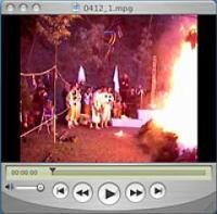 大火渡り動画1