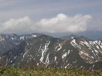 万太郎山と谷川岳