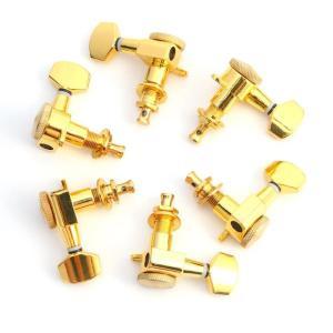 6R Locking tuners machine heads schaller style gold