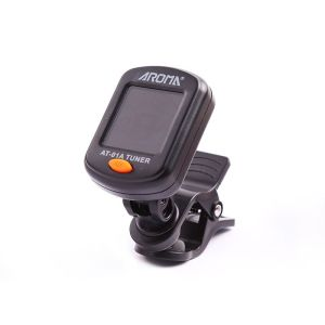Aroma AT-01A digital clip-on (bass)guitar tuner