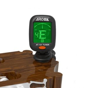 Aroma AT-101 clip-on (bass)guitar headstock tuner