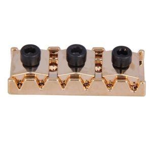 Guitar locking nut 42.2mm gold
