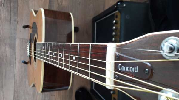 LEFT HANDED Ibanez Concord 696L 1977 Dreadnought Japan
