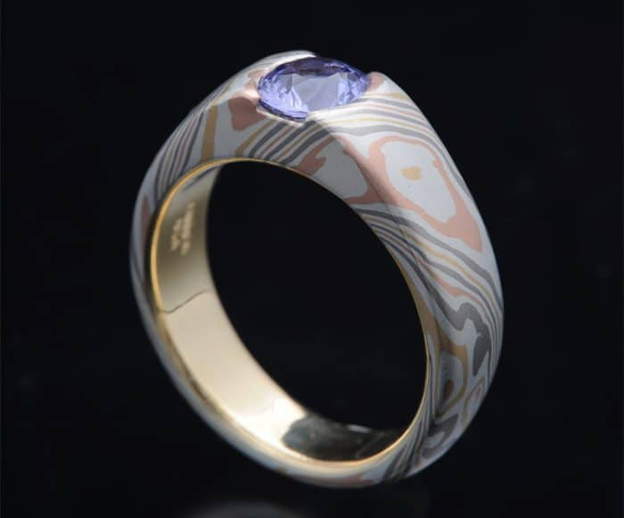 awesome sapphire engagement ring