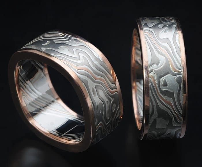 CUSTOM MATCHING WEDDING RINGS