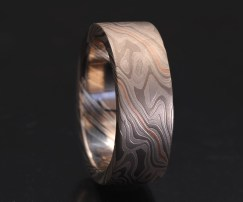 custom metals wedding ring