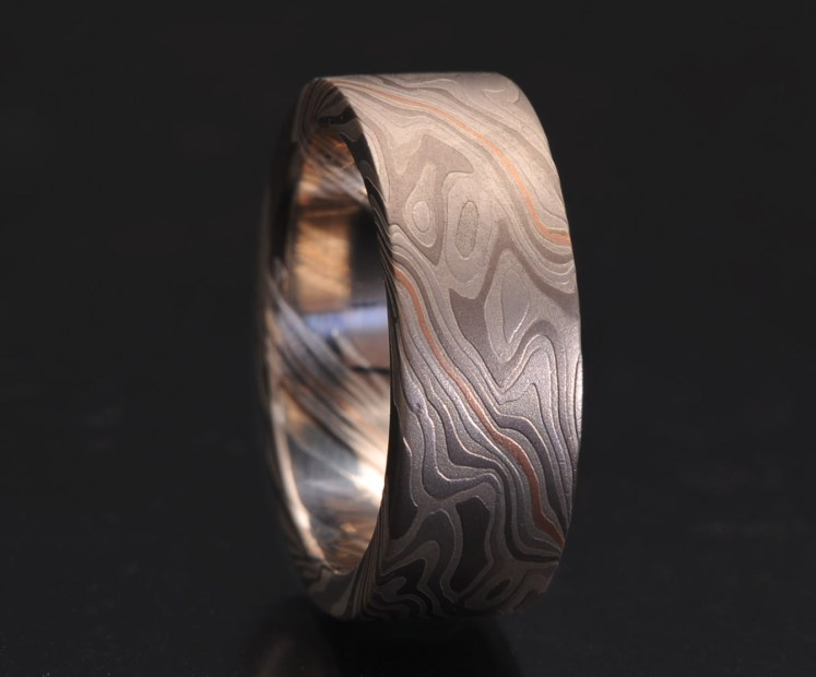 custom metals wedding ring