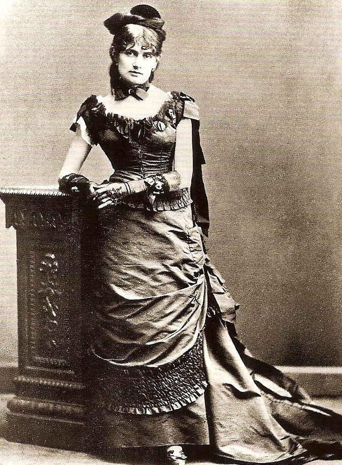Foto van Karl Reutlinger van Berthe Morisot