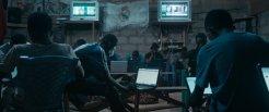 Sakawa: internetbar in de avond