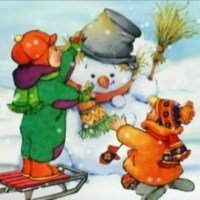 Текст песни - Снеговик
