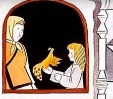 Сказки в диафильмах - Жар птица