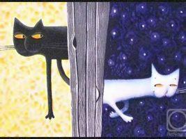 Новогодние песни - Снежный кот
