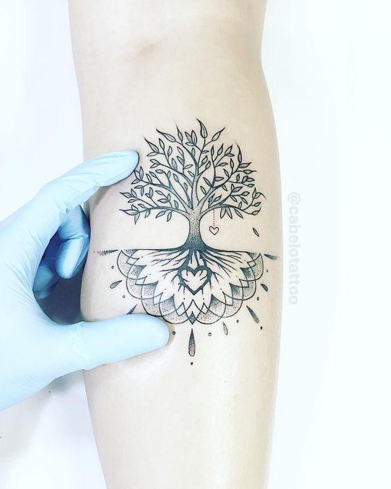 46 Mejores Espectaculares Tatuajes Del árbol De La Vida Top 2018