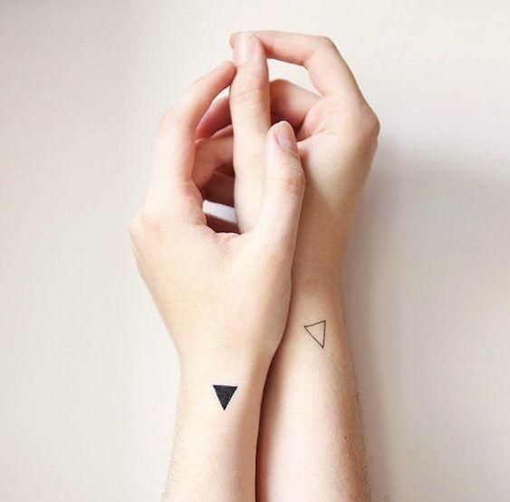 26 Mejores Tatuajes De Triángulos Y Su Significado