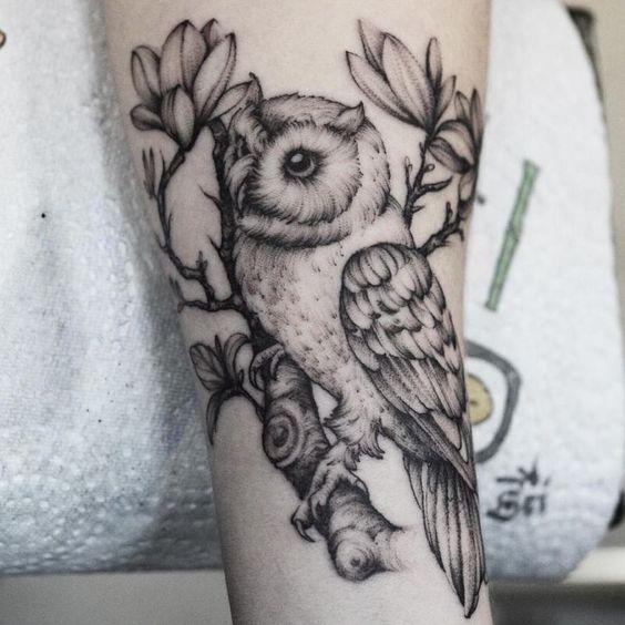 24 Mejores Tatuajes De Búhos Y Su Significado