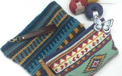 A nice design of a handbag pattern.