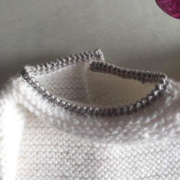jersey de ganchillo cuello Ropa DIY